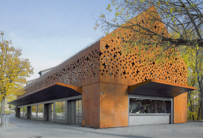 W B Metal Solutions Hausfassaden Cortenstahl